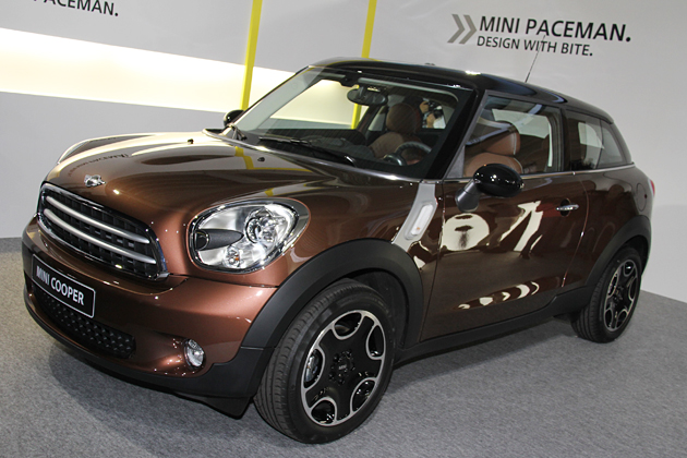 MINI、パリモーターショー2012でワールドプレミアされた「Paceman」と「John Cooper Works GP」を日本初披露
