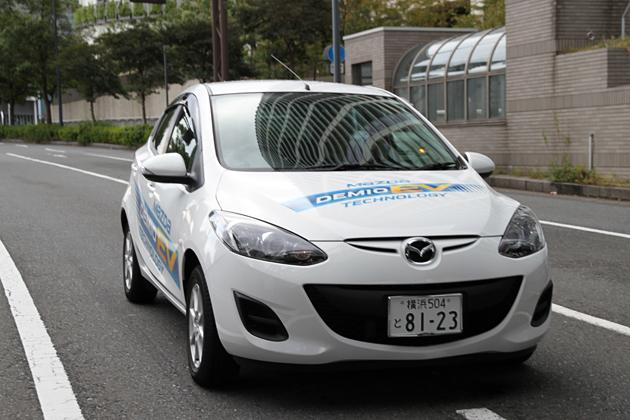 マツダ デミオEV(電気自動車) 試乗レポート/渡辺陽一郎