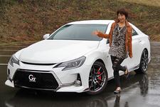 トヨタ マークX G'sと今井優杏さん