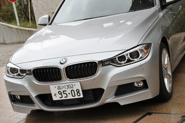 BMW 新型 320d BluePerformance M Sport フロントマスク