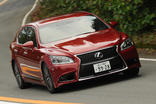 レクサス 新型LS(LS460/LS600hL) 試乗レポート/渡辺陽一郎