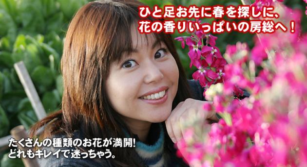 竹岡圭のドライブvol.12 花の香りいっぱいの房総へ!