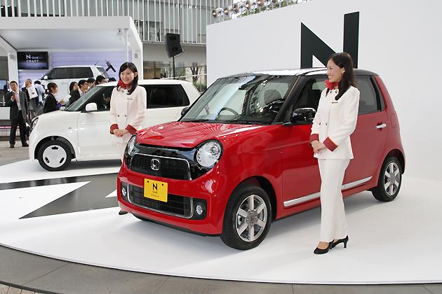 ホンダ 「N ONE(エヌワン)」 新型車速報