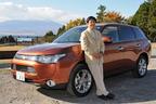 三菱 新型 アウトランダー 24G NAVI Packageを試乗した自動車評論家の渡辺陽一郎