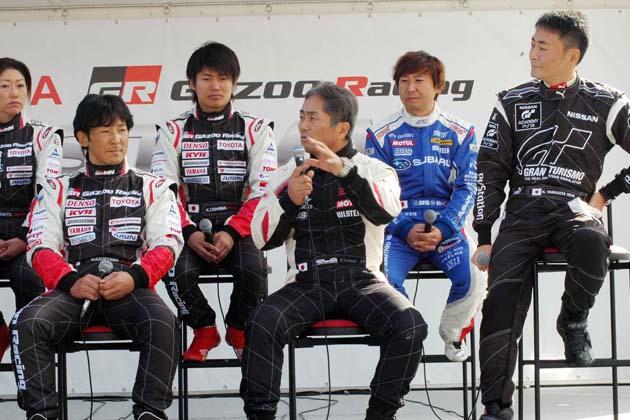 ドライバートークショー/TOYOTA GAZOO Racing FESTIVAL 2012