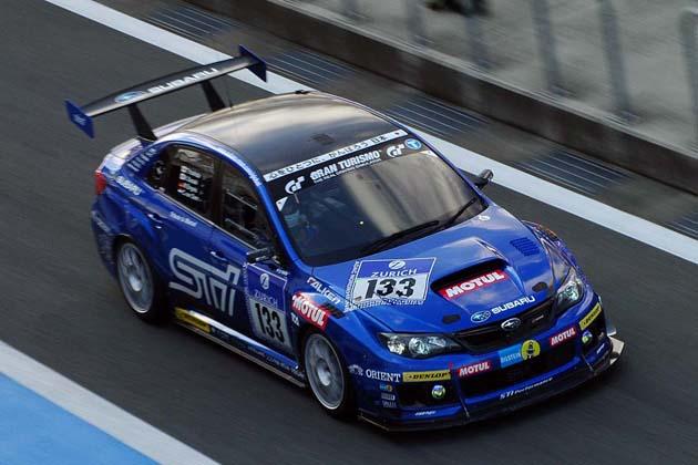 ニュルブルクリンクスペシャルランより「#133 SUBARU WRX STI S206」(2012年)/TOYOTA GAZOO Racing FESTIVAL 2012