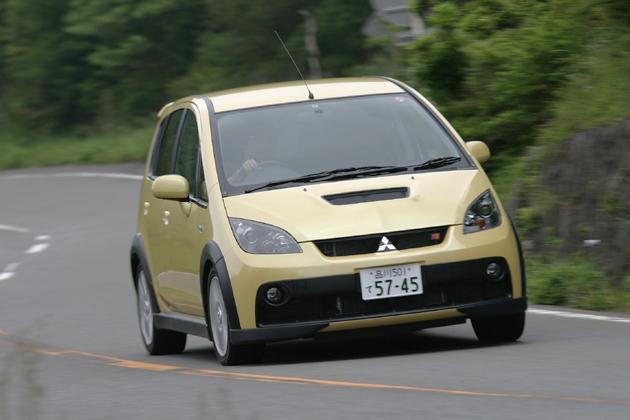 三菱 コルト ラリーアート Version-R 試乗レポート