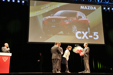【2012-2013日本カー・オブ・ザ・イヤー】カー・オブ・ザ・イヤーは・・・マツダ CX-5!