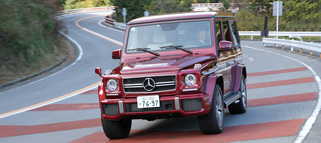 メルセデス・ベンツ 新型Gクラス「G65AMG」「G63AMG」試乗レポート/岡本幸一郎 -V12ツインターボ搭載、最強の「G」に試乗!-