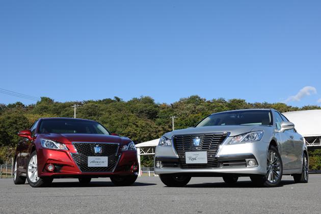 トヨタ 新型クラウン(2012年12月フルモデルチェンジ)新型車解説 -斬新なフロントマスクは賛否両論!?-