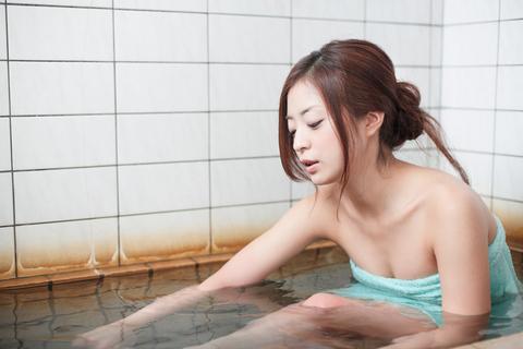 ここの温泉は、冷え性に効くとか。