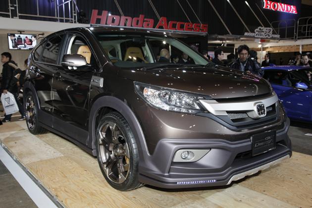 東京オートサロン2013 ホンダブース 出展車両「MUGEN CR-V Design Study」