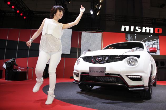 [東京オートサロン2013]コンパニオン特集 日産自動車ブース