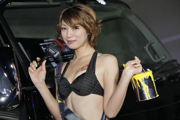 [東京オートサロン2013会場速報]日野ブース