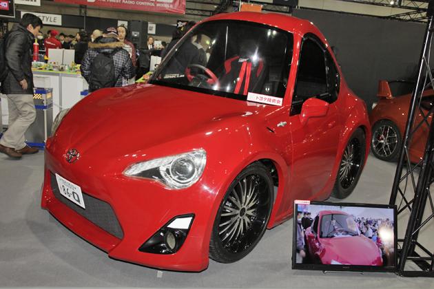 86 & BRZ WORLD in TAS2013[by BEST CAR/OPTION] ハチロクのチョロQ!?「86Q」(はちろっきゅー)