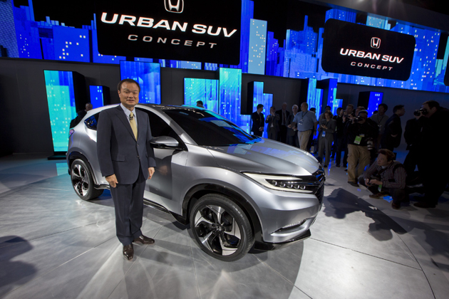 ホンダ、デトロイトモーターショーにて新型コンパクトSUVコンセプト『URBAN SUV CONCEPT』を世界初披露