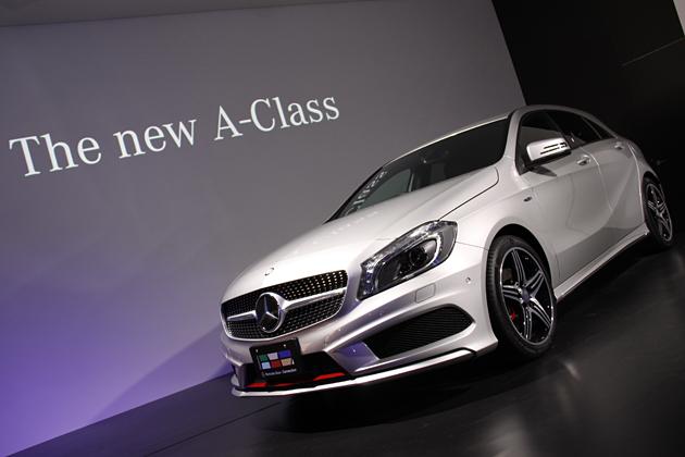 メルセデス・ベンツ 新型Aクラス 新型車速報 ~スポーティな風貌が魅力!エントリーモデルは300万円を切る284万円から~