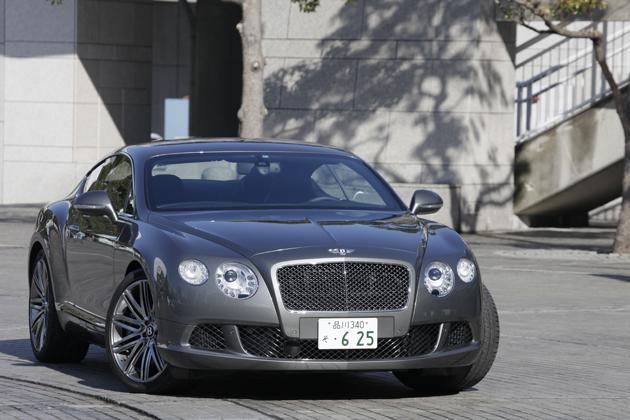 ベントレー 新型 コンチネンタル GT スピード[ボディカラー:Ganite(メタリック)]
