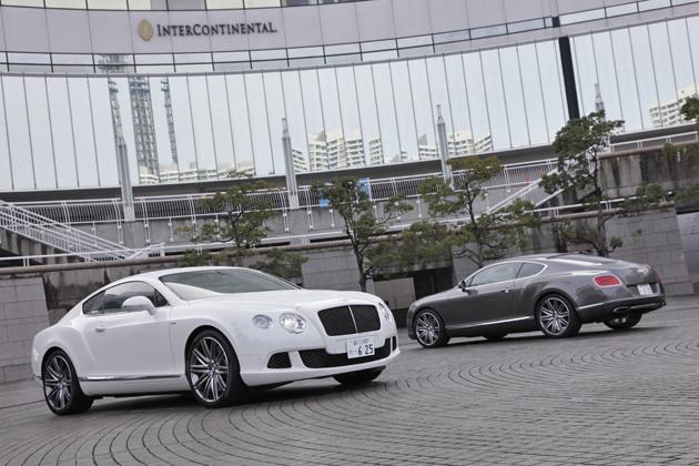 ベントレー 新型 コンチネンタル GT スピード
