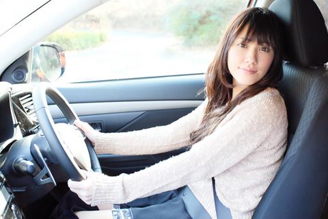 夏目さんの運転、ちょっと不安。。。