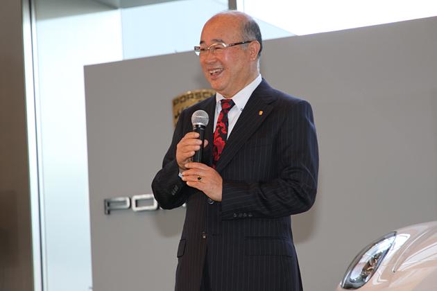ポルシェ・ジャパン代表取締役社長の黒坂登志明氏