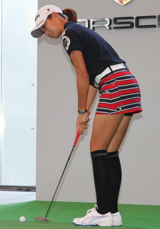 女子プロゴルファー 木戸愛選手