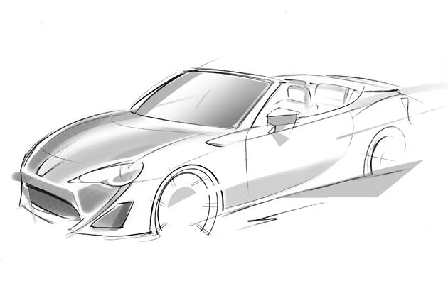 トヨタ 86 オープンモデル プロトタイプ「Toyota FT-86 Open concept」(トヨタ FT-86 オープン コンセプト)[参考出品]