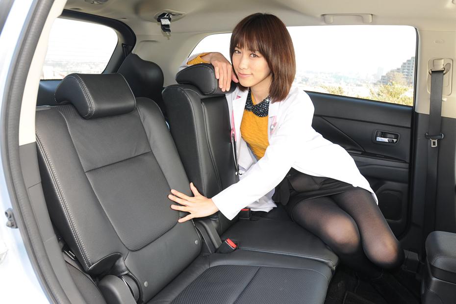 三菱 アウトランダーPHEV/柏木美里の新型車診察しちゃうぞ!