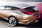 【速報:ジュネーブショー2013】ホンダ、欧州専用「シビック」のワゴンコンセプトをジュネーブモーターショー2013で世界初公開