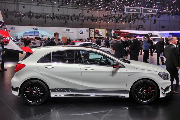 【ジュネーブショー2013】メルセデス・ベンツ 新型 Aクラス A45 AMG