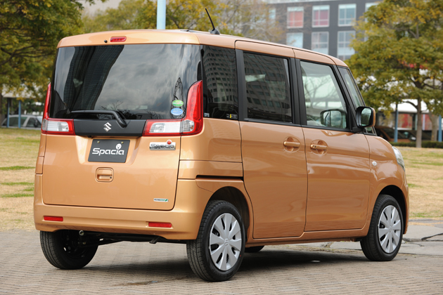 スズキ 新型軽自動車 スペーシア(2013年・パレット後継モデル)新型車解説/渡辺陽一郎 -ワゴンRを超える低燃費29.0km/Lを達成!-(3/3)