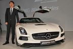 メルセデス・ベンツ SLS AMGクーペ ブラックシリーズ 新型車速報 -SLS史上最強の631psを誇るモデルが登場!-