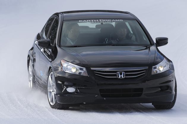 「Honda SPORT HYBRID SH-AWD」[試験車両] テスト走行シーン6