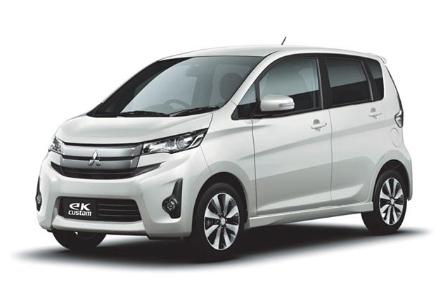 三菱自動車 新型軽自動車「eKカスタム」[日産自動車共同開発]