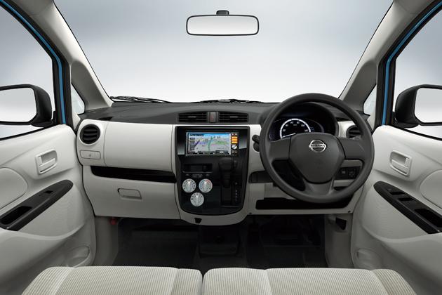 日産 新型軽自動車「DAYZ(デイズ)」 インテリア・インパネ周り画像