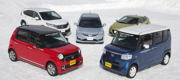 積極的に運転を楽しむことが出来る懐の深さを雪上で実感
