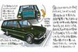 ピニンファリーナ・デザインの流麗なワゴン「日産 セドリック ワゴン」[W130型]
