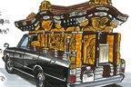[イラストレーター遠藤イヅルの「マルエン」レポートVol.2]個人所有の霊柩車って!?~横浜・本牧「マニアクルーズ」編~