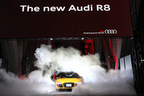 アウディ 新型 R8「The new Audi R8 Press Launch Event」新型車速報
