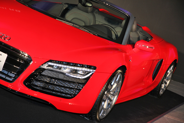 アウディ 新型 R8 発表会「The new Audi R8 Press Launch Event」[2013.03.19]