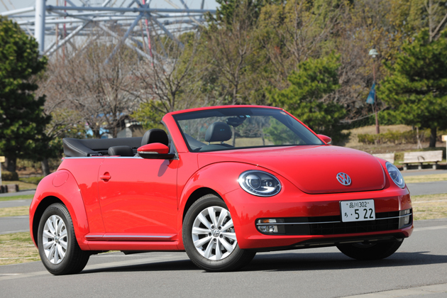 VOLKSWAGEN The Beetle Cabriolet[フォルクスワーゲン ザ・ビートル カブリオレ]