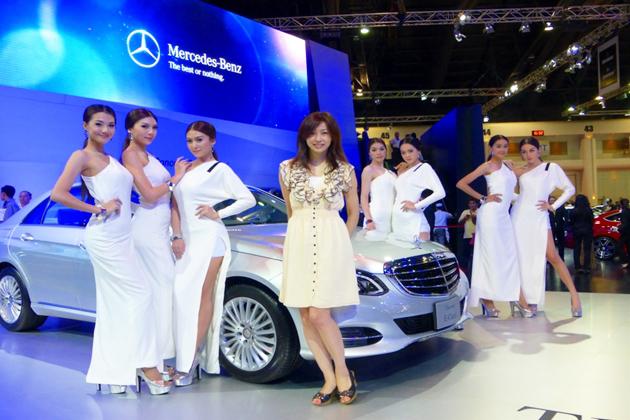 アジアンビューティたちが彩るアジアのモーターショー/吉田由美 アジアンビューティたちが彩るアジア