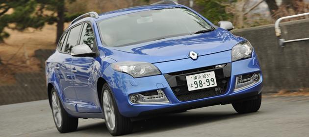 ルノー 新型 メガーヌ エステート GTライン[2013年モデル]試乗レポート/渡辺陽一郎
