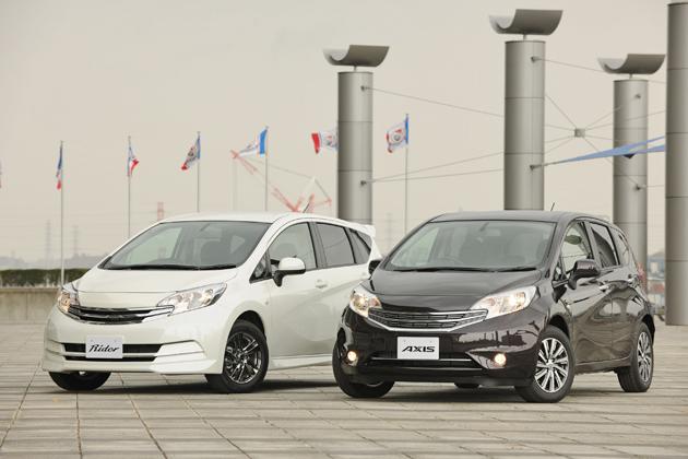 オーテックジャパンのカスタムカーシリーズ、「日産 ノート