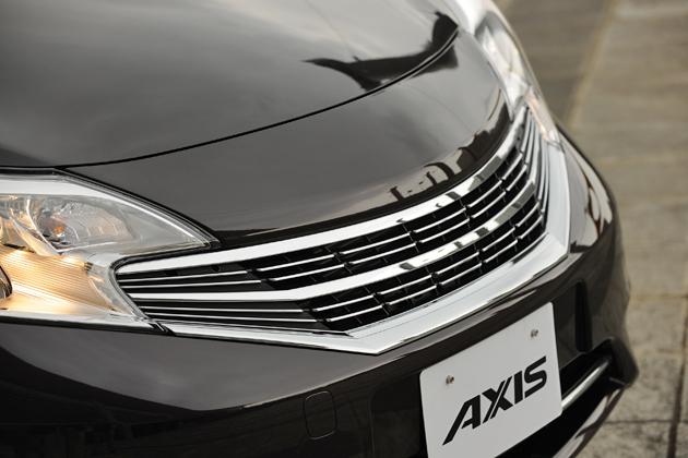 日産 ノート AXIS(アクシス)[2WD/DIG-S エコスーパーチャージャー/ボディカラー:オーロラモーヴ(特別塗装色)]