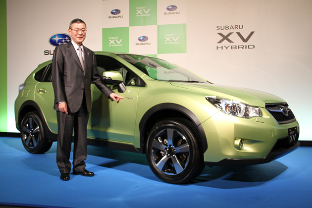 """スバル初のハイブリッドカーは""""XV""""、「スバル XVハイブリッド」今夏に日本で発売"""