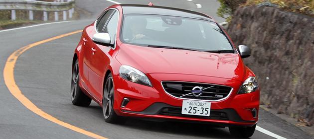 ボルボ 新型 V40 T5 R-DESIGN 試乗レポート/岡本幸一郎