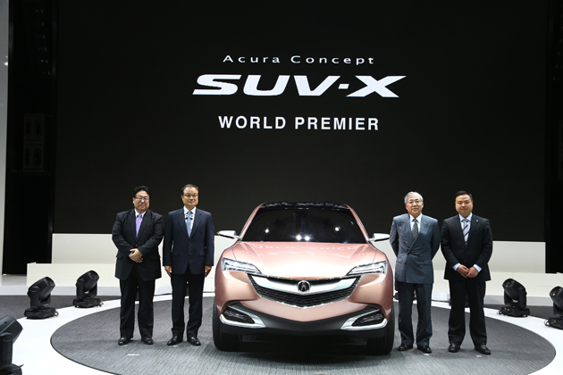 Acura Concept SUV-X[上海モーターショー2013会場]