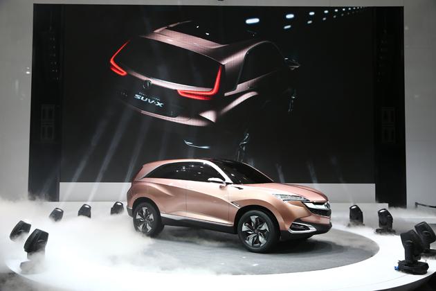 【上海ショー2013】ホンダ、高級車ブランド「アキュラ」の新型SUVコンセプトを発表~3年後には中国で生産へ~