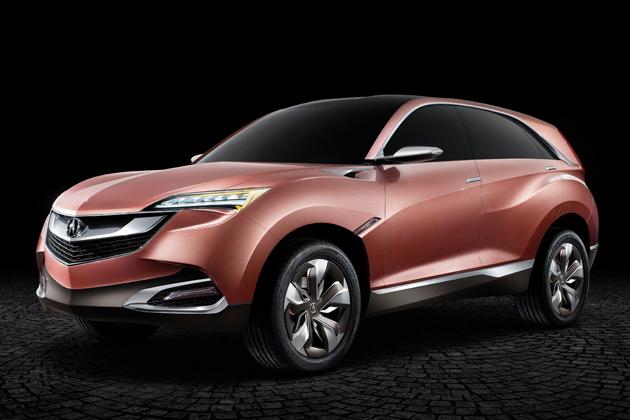 Acura Concept SUV-X[上海モーターショー2013出展コンセプトカー:参考出展]